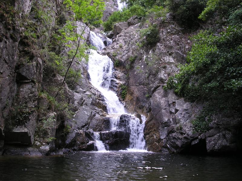 Cascata del Marmarico a Bivongi
